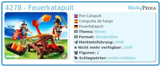 Playmobil 4278 - Feuerkatapult