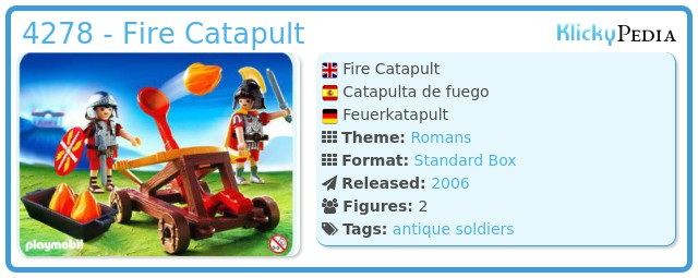 Playmobil 4278 - Firing Catapult