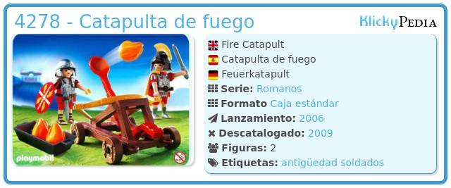 Playmobil 4278 - Catapulta romana