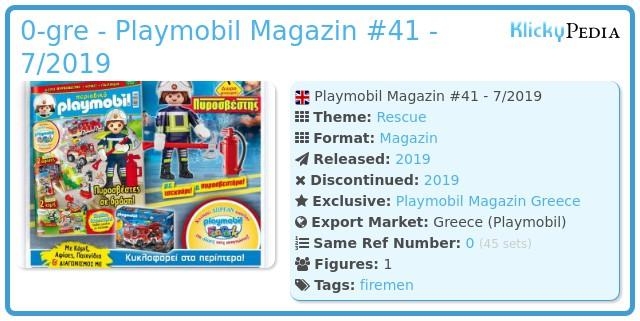 Playmobil 0-gre - Playmobil Magazin #41 - 7/2019