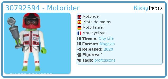 Playmobil 30792594 - Motorider