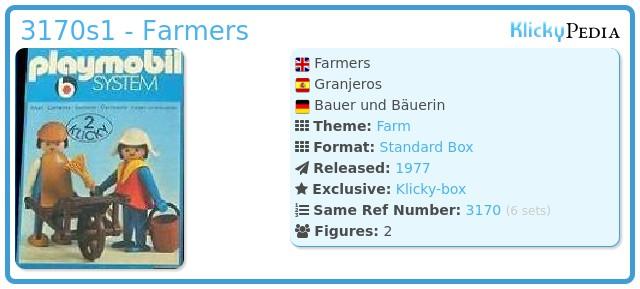 Playmobil 3170s1 - Farmers
