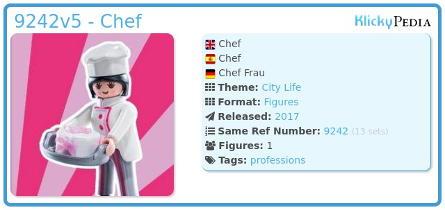 Playmobil 9242v5 - Chef woman