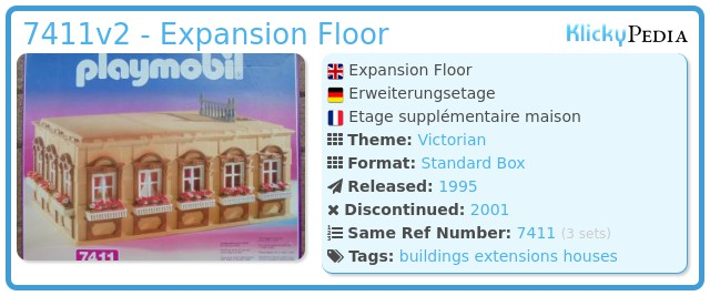 Playmobil 7411v2 - Expansion Floor