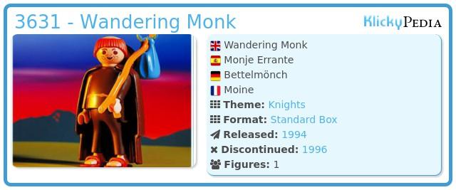 Playmobil 3631 - Wandering Monk