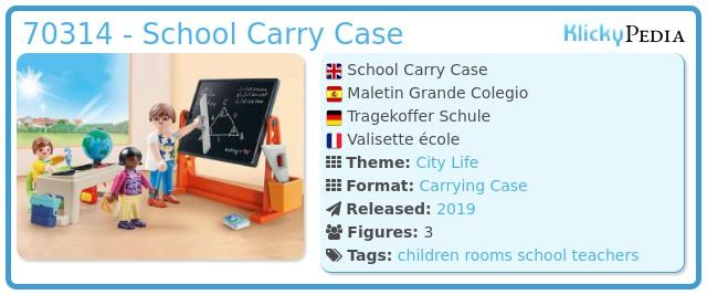 Playmobil 70314-usa -  school briefcase