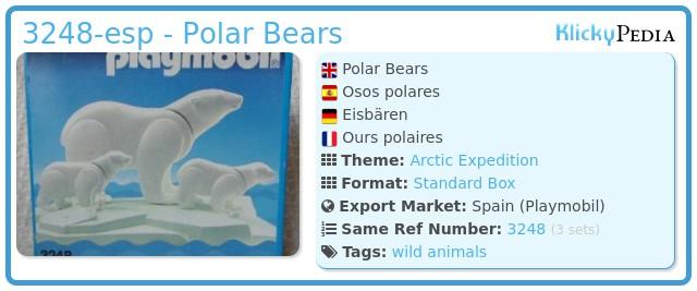 Playmobil 3248-esp - Polar Bears