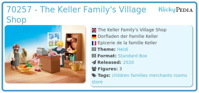 Playmobil 70257 - Dorfladen der Familie Keller