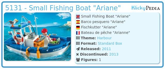 Playmobil 5131 - Small Fishing Boat