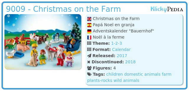 Playmobil 9009 - Christmas on the Farm
