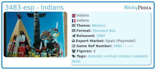 Playmobil 3483-esp - Indians