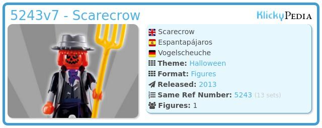 Playmobil 5243v7 - Scarecrow