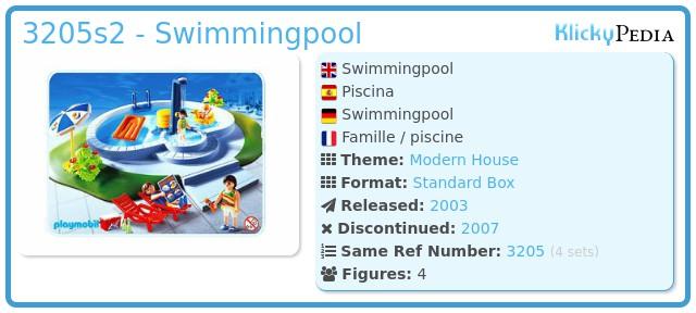 Playmobil 3205s2 - Swimmingpool