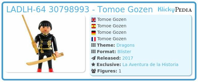 Playmobil LADLH-64 - Tomoe Gozen