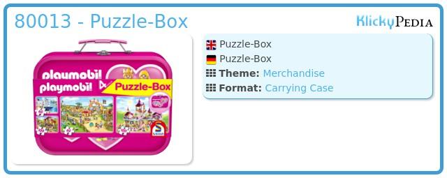Playmobil 80013 - Puzzle-Box