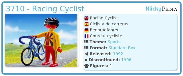 Playmobil 3710 - Racing Cyclist