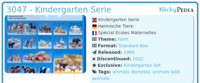 Playmobil 3047 - Kindergarten Serie