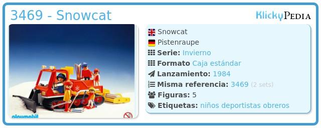 Playmobil 3469 - Snowcat