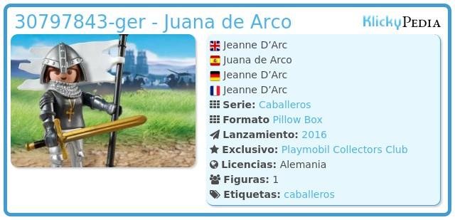 Playmobil 30797843-ger - Juana de Arco