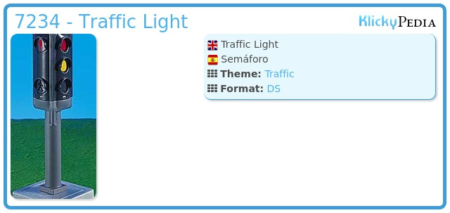 Playmobil 7234 - Traffic Light