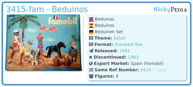 Playmobil 3415-fam - Beduinos
