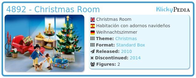Playmobil 4892 - Christmas Room