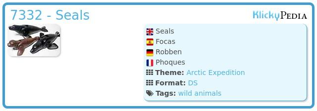 Playmobil 7332 - Seals