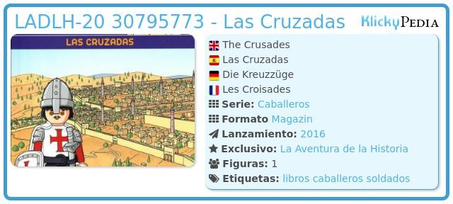 Playmobil LADLH-020 30795773 - Las Cruzadas