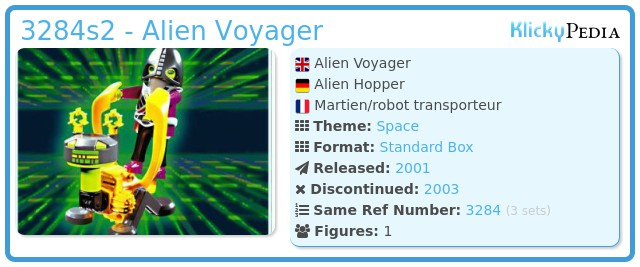 Playmobil 3284s2 - Alien Voyager