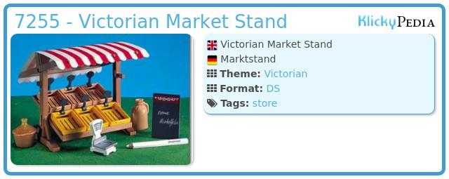 Playmobil 7255 - Victorian Market Stand