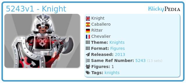 Playmobil 5243v1 - Knight