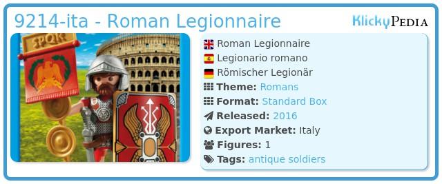 Playmobil 9214-ita - Roman Legionnaire