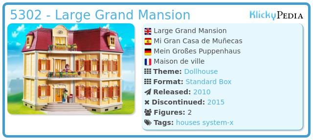 Playmobil 5302 - Large Grand Mansion