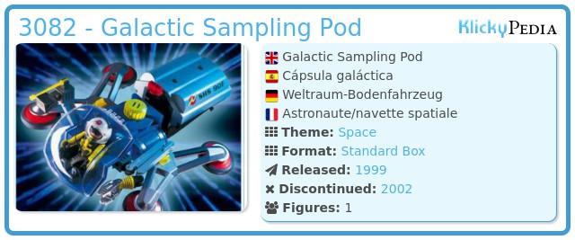 Playmobil 3082 - Galactic Sampling Pod