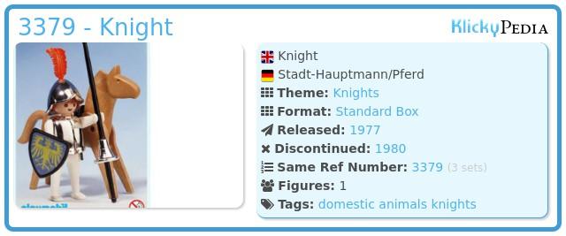 Playmobil 3379 - Knight
