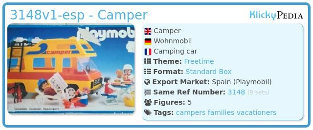 Playmobil 3148v1-esp - Camper