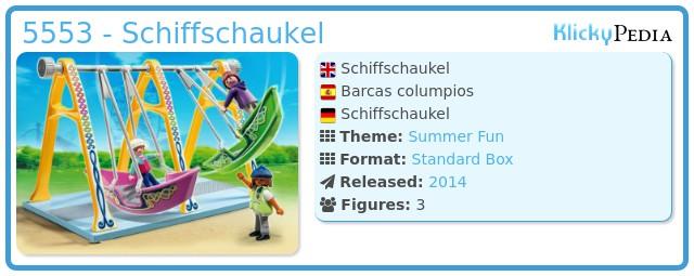 Playmobil 5553 - Schiffschaukel
