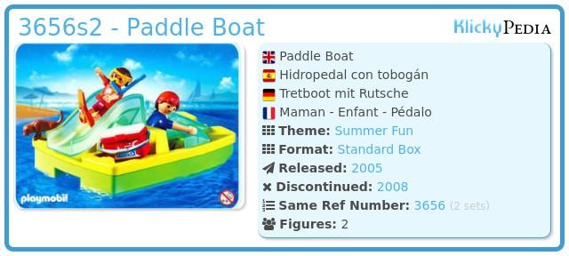 Playmobil 3656s2 - Paddle Boat