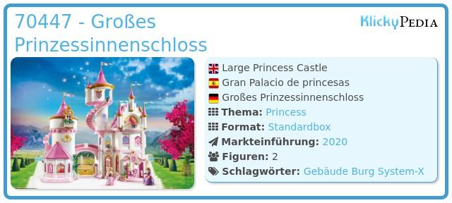 Playmobil 70447 - Großes Prinzessinnenschloss