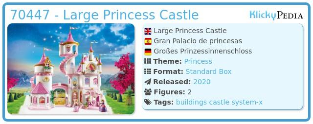 Playmobil 70447 - Large Princess Castle