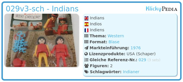 Playmobil 029v3-sch - Indians