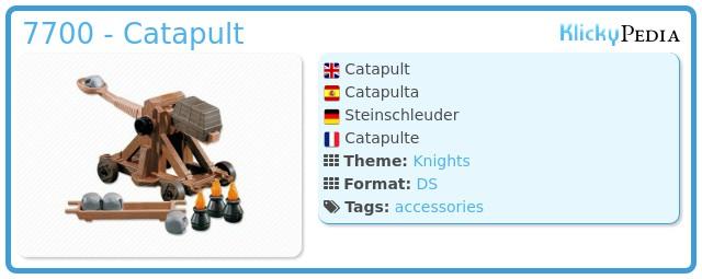 Playmobil 7700 - Catapult