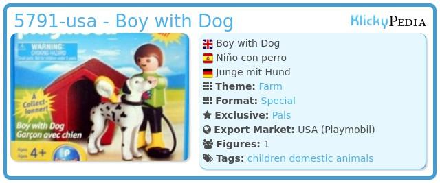 Playmobil 5791 - Boy with Dog