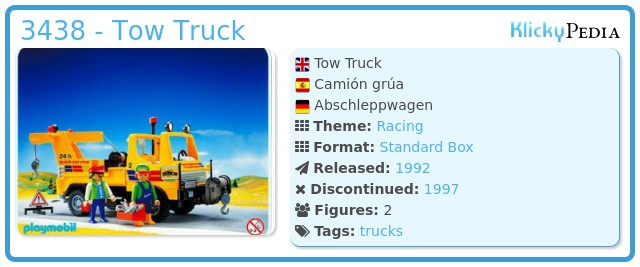 Playmobil 3438 - Tow Truck