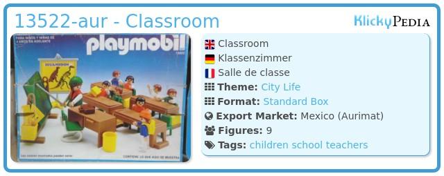 Playmobil 13522-aur - Classroom