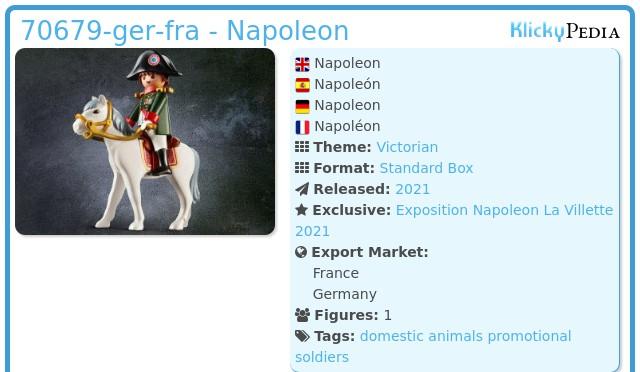 Playmobil 70679-ger-fra - Napoleon