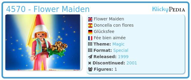 Playmobil 4570 - Flower Maiden