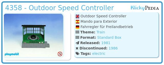 Playmobil 4358 - Handregler / Freiland