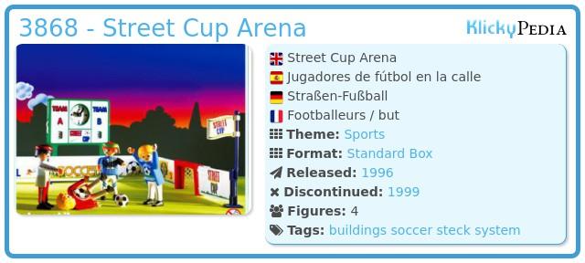 Playmobil 3868 - Street Cup Arena