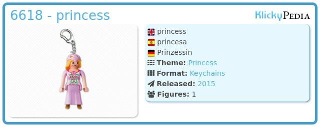 Playmobil 6618 - princess